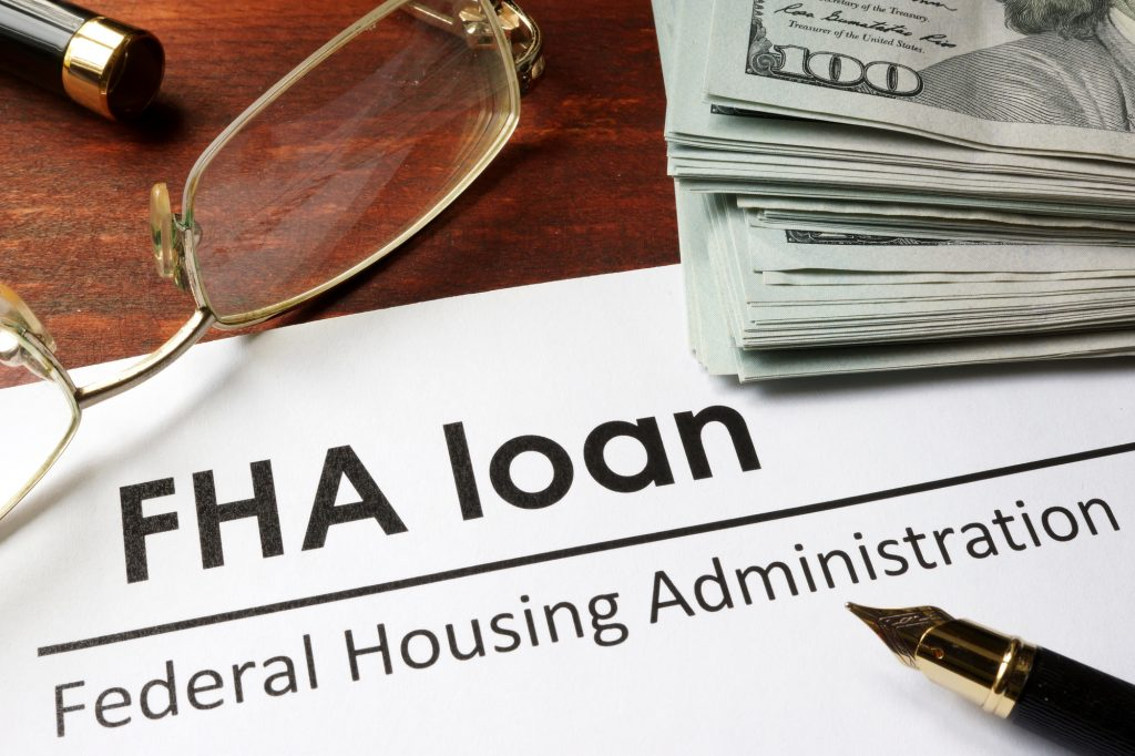 applying for a FHA home loan