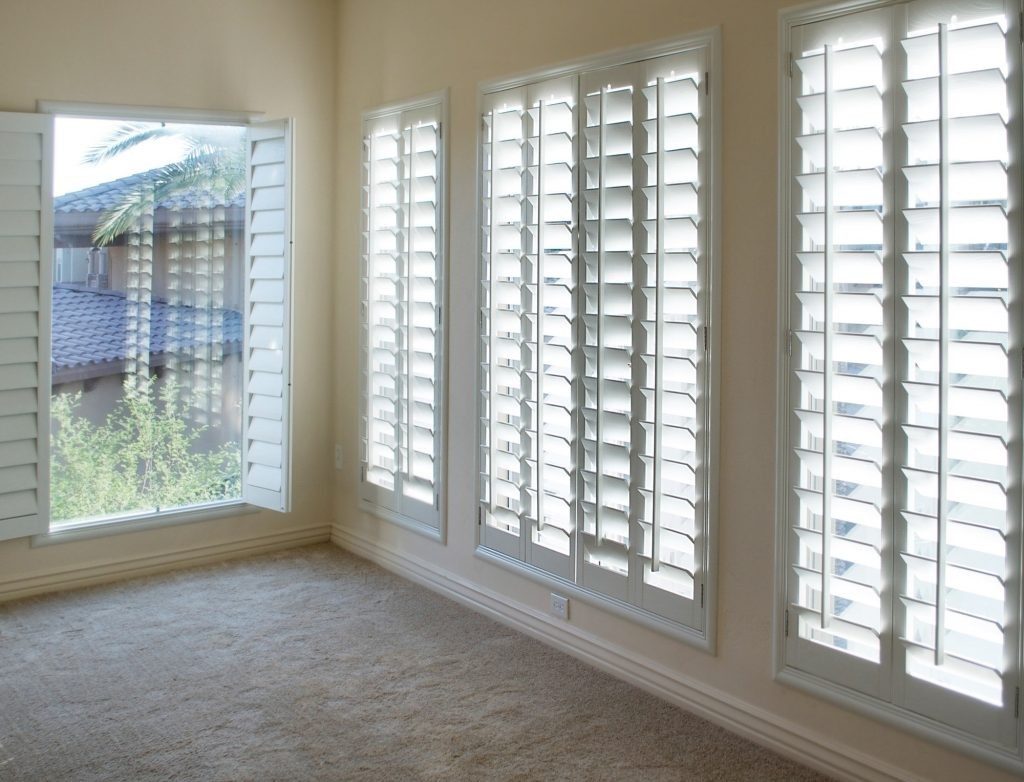 blinds or curtains