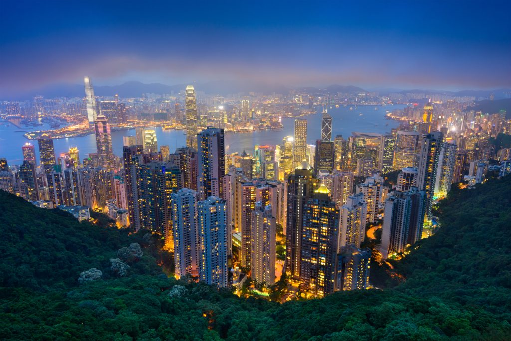 hong kong real estate market